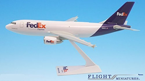 fedex-05-cur-n808fd-airbus-a310-300-airplane-miniature-model-plastic-snap-fit-1200-part-aab-31020h-0