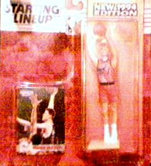 Shawn Bradley 1994 Edition Starting Lineup Action Figure with Rookie Card