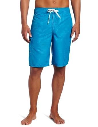 Gotcha Men's Mini Repeat Boardshort, Blue Jewel, 30