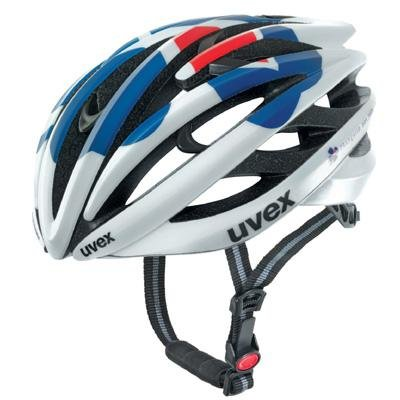 Buy Low Price UVEX fp3.0 Team Francaise des Jeux pearl-blue-red road Helmet (B003IMYNUA)