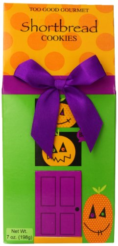 Too Good Gourmet Haunted House Cookie Box, Shortbread, 7 Ounce