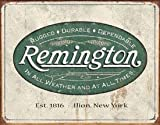 Tin Signs Remington Sign, Weathered Logo 1413