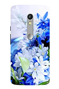 Accedere Printed Back Cover Case for Motorola Moto X Play