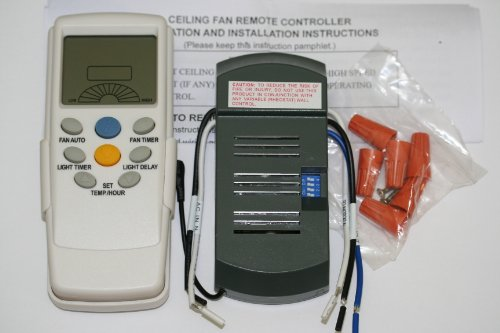 Thermostatic Ceiling Fan Remote Control Universal Kit (Harbor Breeze Remote Battery compare prices)