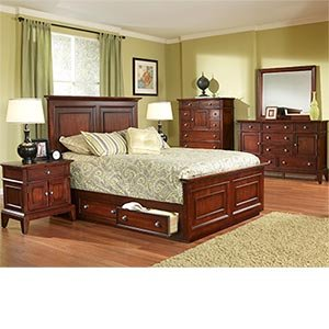 bedroom sets johnstown 6 pc cal king bedroom set bed 2
