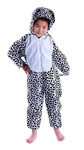 Lovely Kids Unisex Children Animal Pajamas Anime Dalmatians Cosplay Costume