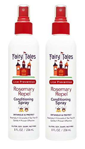 FAIRY TALES Rosemary Repel Lice Prevention Leave-In Conditioning Spray 8 oz, Pack of 2 (Fairy Tales Rosemary Spray compare prices)