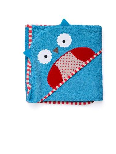 Skip Hop Zoo Hooded Towel - Owl front-975468