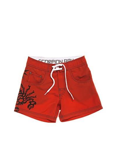 Scorpion Bay Shorts da Bagno Jsb [Rosso]