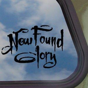 New Found Glory Black Decal Punk Band Truck Window Sticker