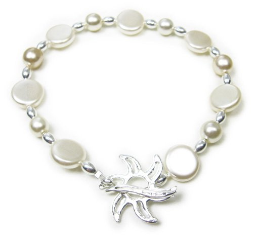 AM5364 – Unique Faux pearl Bracelet by Dragonheart – 20cm
