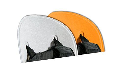 Thule Ridealong Child Seat Padding, Light Gray/Orange front-1030189