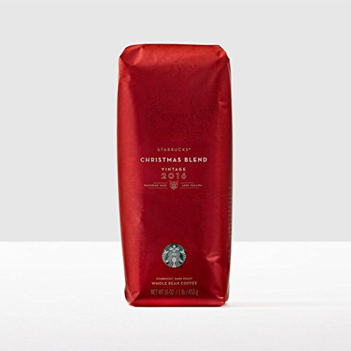 2016 Starbucks Christmas Blend Whole Bean Coffee - 1 pound bag (Whole Bean Coffee 1lb compare prices)