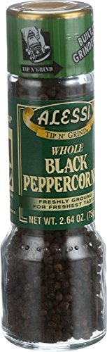 Alessi Grinder - Whole Black Peppercorns - Large - 2.64 oz
