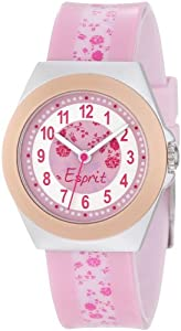 Esprit Kids' ES105314001 Rosy Garden Analog Pink Dial Watch