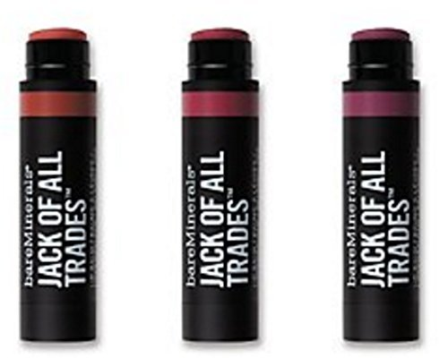 BareMinerals Jack of All Trades Lip Balm 3 Piece Collection Volume 2 (Jack Of All Trades compare prices)