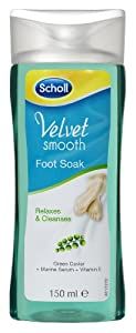 Scholl Velvet Smooth Pedicure Foot Soak 150 ml