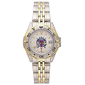 NSNSW21957Q-Ladies All Star Sacramento Kings Watch - Stainless by NBA Officially Licensed