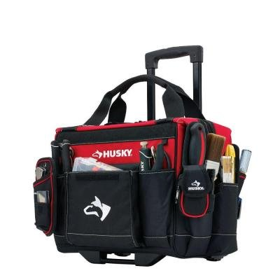 Husky 14 in. Rolling Tool Tote (Husky Tools Warranty compare prices)