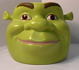 Amazon Com Shrek Mug Shrek Head Mug Shrek Novelty Mug