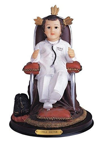 StealStreet Ss-G-312.95 Child Doctor On Chair Statue Figurine Decoration Figure Decor, 12