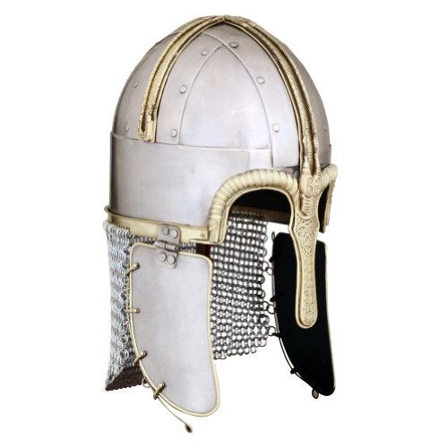 Armor Venue Viking/Norman Coppergate Helmet - One Size - Metallic Armour