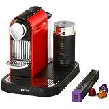 Nespresso CitiZ and Milk by Krups XN730540 Coffee Machine - Fire Engine Red