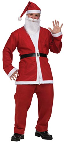 Funworld Mens Christmas Santa Claus Pub Crawl Theme Party Fancy Costume