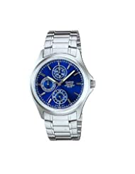 Casio Analogue-Digital Blue Dial Men's Watch - MTP-1246D-2AVDF