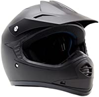 Youth Kids Offroad Helmet DOT Motocross ATV Dirt Bike MX Motorcycle Matte Black XL from Typhoon Helmets