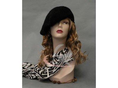 (MD-TinaF3) ROXY DISPLAY® Realistic Female Mannequin Head Flesh Tone Pretty make-up. Ears pierced (Roxy Display Mannequin Head compare prices)