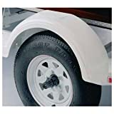 Fulton 508541 White Plastic Fender for 8
