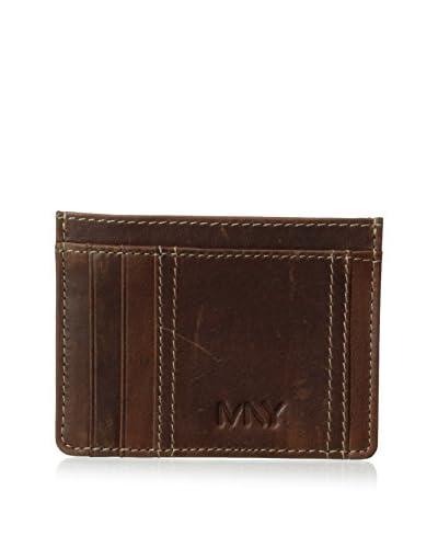 Marc New York Men's Rugged Wash Card Wallet
