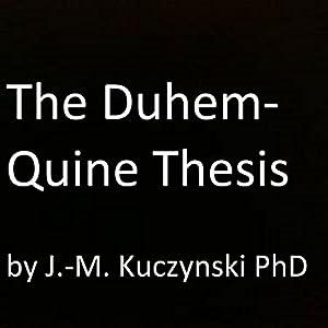 The Duhem-Quine Thesis Audiobook