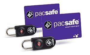 Pacsafe Prosafe 750 TSA Accepted Key-Card Lock (2 Pack) - Black