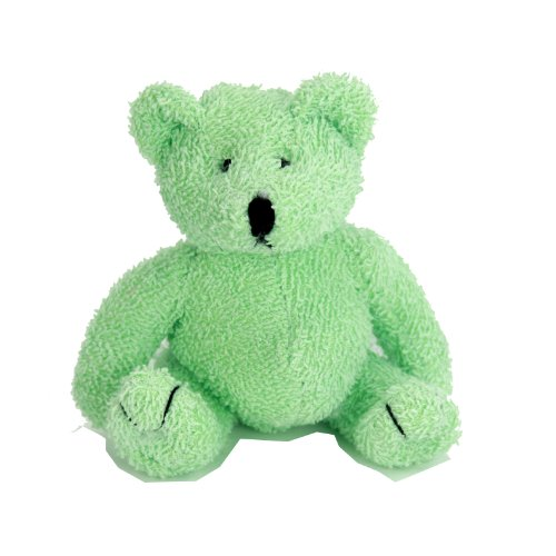 "Purr-Fection Jewels Mint Green Bear 6"" Plush"