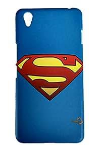 Happoz Superhero Superman Logo Premium Hard Back Case Mobile Cover for Oneplus X D001