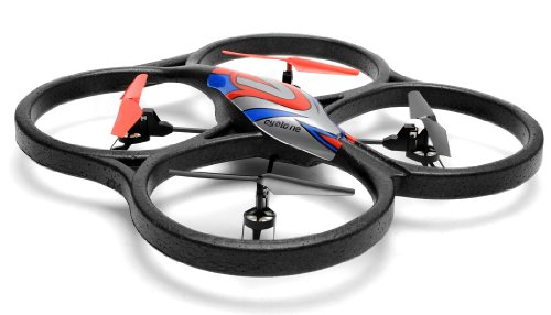 WL Toys V262 Cyclone UFO 4 Channel 6 Axis Gyro Quadcopter 24Ghz Ready to Fly Red