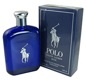 Polo Blue for Men By Ralph Lauren Eau-de-toilette Spray, 6.7-Ounce