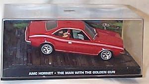 james bond 007 the man with the golden gun AMC hornet red film scene car 1.43 scale diecast model