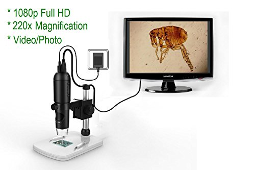 Mustcam-1080P-Full-HD-Digital-Microscope-HDMI-Microscope-10x-220x-magnification-to-Any-MonitorTV-with-HDMI-In-Photo-Capture-Micro-SD-Storage-PC-supported-too