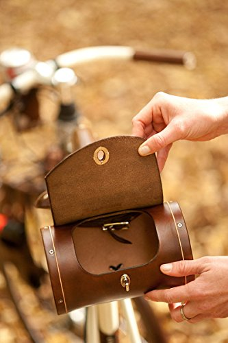 Walnut Studiolo Bicycle Seat Saddle Barrel Bag 1