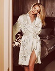 Rosie for Autograph Limited Edition Silk Embroidered Kimono Wrap