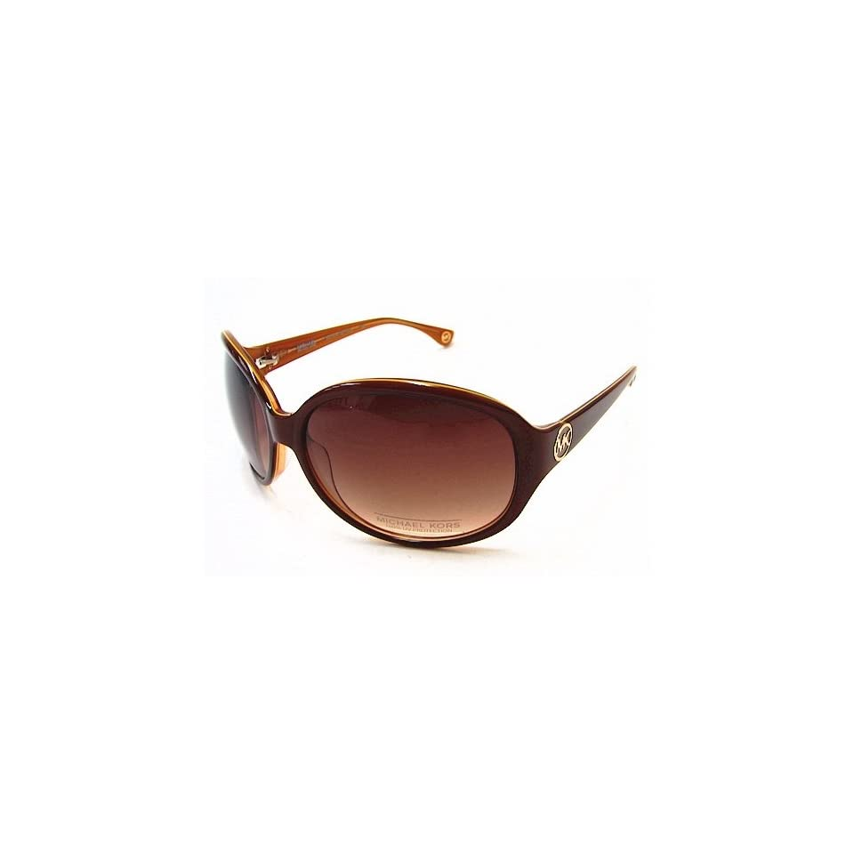 273d4a2bcde8 Michael Kors M2740/S Marsella Sunglasses M2740S Amber Brown 260 Shades  Clothing