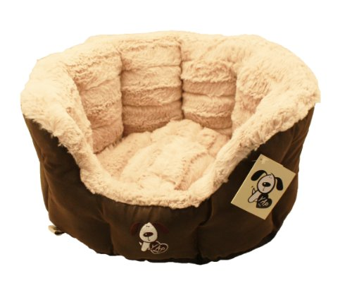 Montieri Oval Pet Bed 26 Inches Dog Bed
