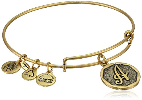 Alex and Ani Rafaelian Gold Finish Initial