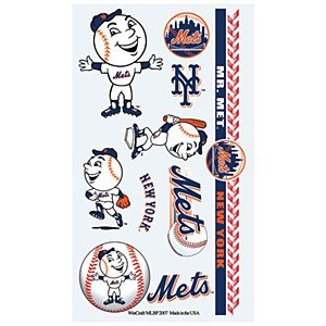 MLB New York Mets Temporary Tattoos at Amazon.com