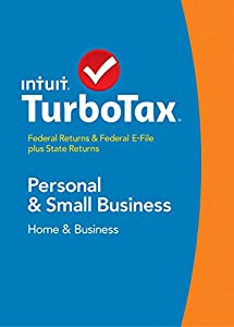 TurboTax Home & Business 2014 Fed + State + Fed Efile Tax Software +