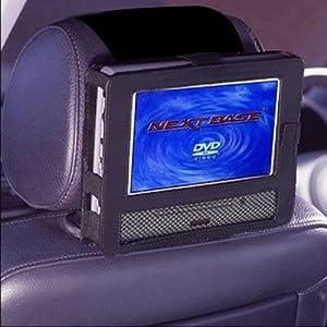 Car Headrest Mount for Swivel & Flip Style Portable DVD Player-9 Inch