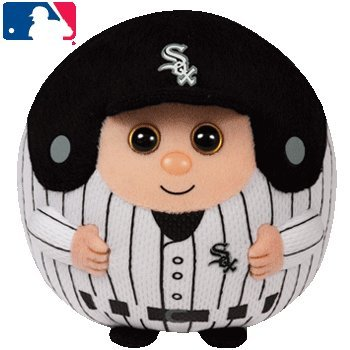 Ty Beanie Ballz MLB Chicago White Sox Medium Plush